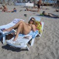 Russian amateur girl serie 264 - beach
