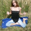 Russian amateur girl serie 134