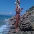 Russian amateur girl serie 261 - beach
