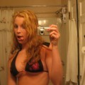Selfshot - girlfriend flashing
