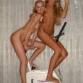 Two hot blondes lesbian (young and old)