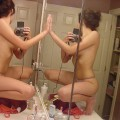Hot  asian girl selfshots
