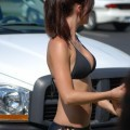 More bikini car wash hotties