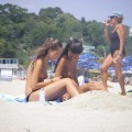 TEEN ON NUDIST BEACH SET **** Young Teen Girl FKK  - 29