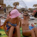Pikotop - topless top girls at beach