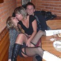 Horny amateur swingers