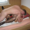 German amateur couple fucks
