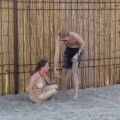 Couple fucking at nude beach - 1