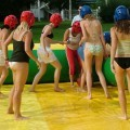 College initiations: water games. part 4