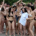College initiations: water games. part 5
