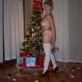Milf at christmas