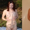 Clothed and naked collages