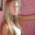 Tanned teen
