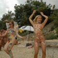 Beach naturist photos