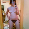 Chubby brunette sexting