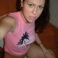 Brunette selfshooter masturbating