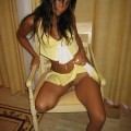 Raven riley in yellow