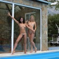 Ofelia, beata - swimming lesson