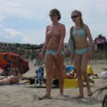 Nute at the beach mix - fkk nudism