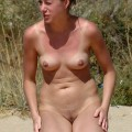 Small Boobies at Nudist Beach  - 36