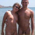 Small Boobies at Nudist Beach  - 34