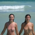 Nice topless on the beach