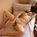 Masturbating russian girl