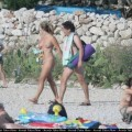 Nudists in baska ( krk / croatia )