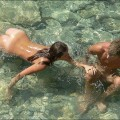 Nudist couple, young lovers fkk - 1