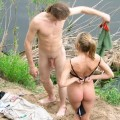 Nudist couple, young lovers fkk - 23