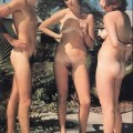 Vintage photos with nudist girls