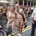 World naked bike ride i