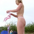 Nude girls by the river - 19