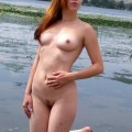 Nude girls by the river - 16a