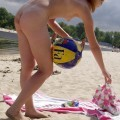 Nude girls by the river - 11