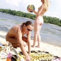 Nude girls by the river - 10