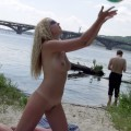 Nude girls by the river - 07