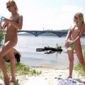 Nude girls by the river - 06