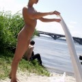 Nude girls by the river - 04