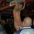 Naked bar party