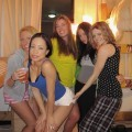 Amateur college dorm sex party