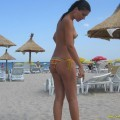 Pikotop - italian couple at sexy vacation photos
