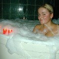 Girls in bath 33
