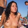 Beach topless 1