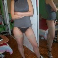 Maggie - amateur teen in undies