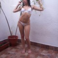 Melina - amateur teen from argentina in lingerie