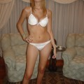 Luciana - amateur from argentina posing in undies