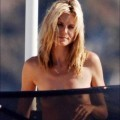 Heidi klum topless on yacht