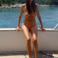 Vacation on yacht with sexy girl