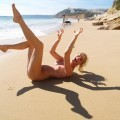 Pikotop - beauty amateur girl pose on the bech